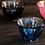 Thumbnail: Aderia Gold Sprinkle Glass Teacups