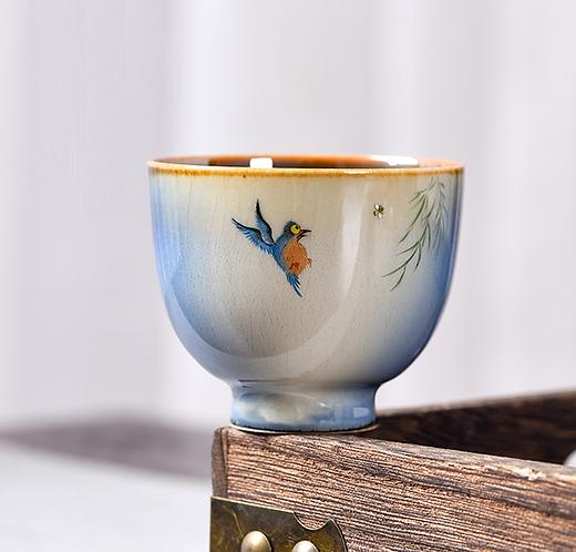 Humming Bird Teacup