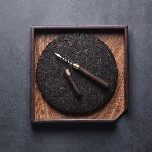 Red & Brown Bamboo Puer Pick
