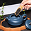 Thumbnail: Yixing Zisha Ink Green Clay The Luck of Ring Xishi Teapot (260 ml)