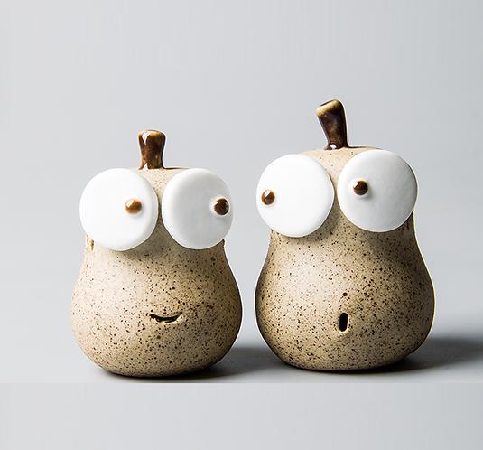 Pear Brothers Teapet