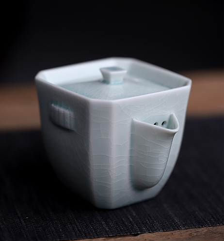 Tiffany Blue Square Easy Gaiwan ( 150 ml )