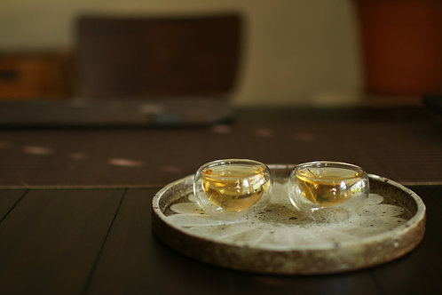 Double Wall Glass Teacups (Set Of Two)
