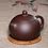 Thumbnail: Yixing Zisha Aged Purple Clay Queen Xishi Teapot (230ml) (Name Carving)