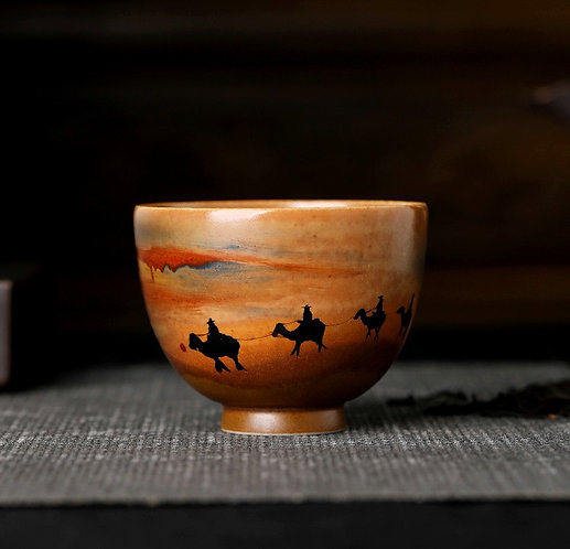 Expedition in Sahara Teacup