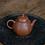Thumbnail: Yixing Zisha Aged Zhu Clay Mini Pear Teapot (105ml)