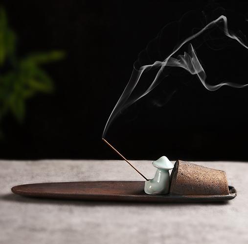 Old Boat Man Incense Holders