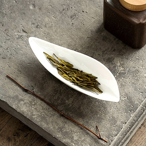 White Lotus LeafCha Ze Tea Scoop