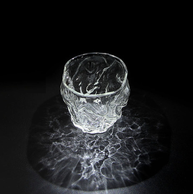 Wave Dance Glass Cup