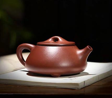 Yixing Zisha Base Clay King Chau Shipiao Teapot (220ml) (Name Carving)
