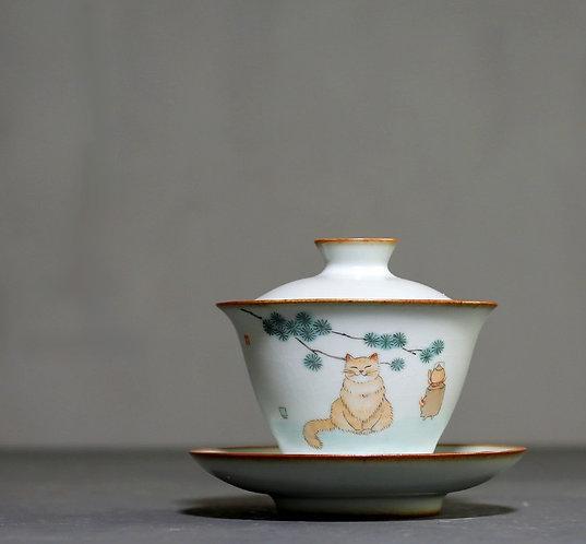 Cat Tea Master Gaiwan (130ml)