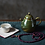 Thumbnail: Green Forest Woodfired Teapot