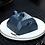 Thumbnail: Yixing Zisha Ink Green Clay Pixiu Cut Square Xishi Teapot (230 ml)