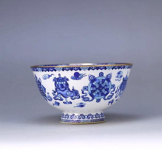 Eight Treasures Qinghua Teacup
