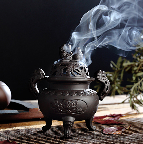 Imperial Tripod Incense Holders