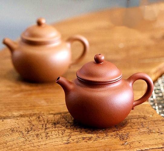 Zisha Aged Zhu Clay Lotus Seed Teapot (155ml)
