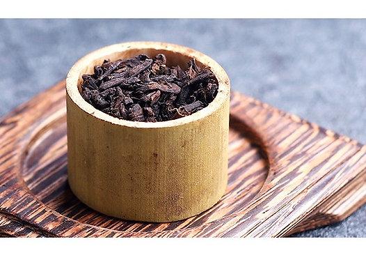 2010 Spring Bing Tao Gushu Bamboo Ripe Puerh