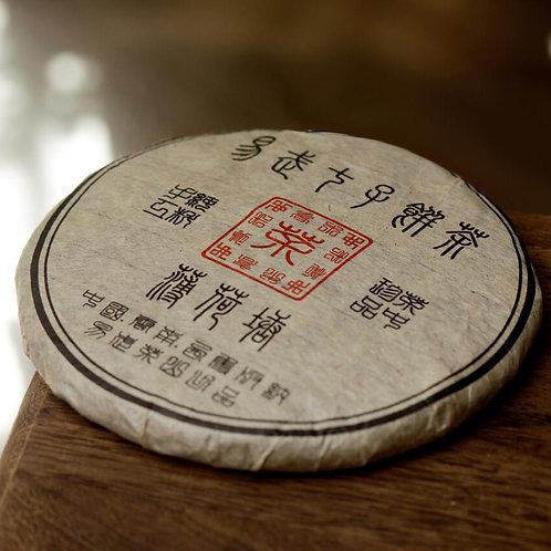 2003 Yiwu Gushu Bo He Tang Raw Puerh - Mint Pond
