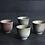 Thumbnail: Wood Fired Dawn Dust Teacups