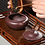 Thumbnail: Yixing Zisha Aged Purple Clay Bamboo Hat Teapot (310ml)