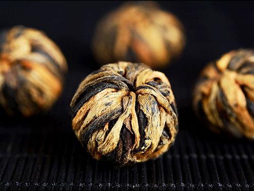 2021 Spring Delux Dian Hong Tea Ball  - Gold Sapphire