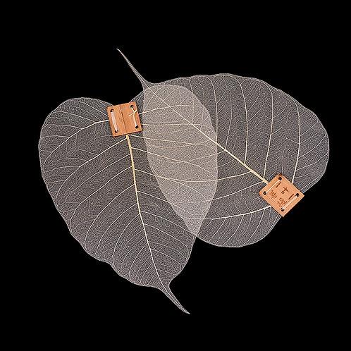 Natural Bohdi Leaf Strainer