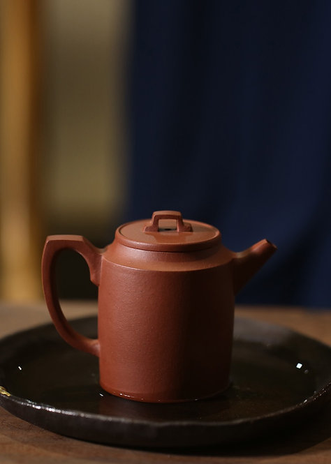 Yixing Zisha Base Clay Ji Zhi Xishi Teapot (165ml)