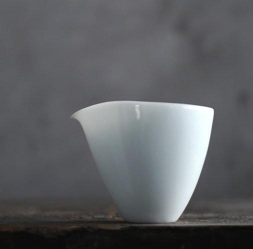 Jade White Shadow Blue Glaze Fair Cups