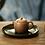 Thumbnail: Yixing Zisha Aged Fault Clay Grass Hopper Mantan Teapot (120ml)