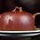 Thumbnail: Yixing Zisha Base Clay Aged Vine Hanwa Teapot (225ml) (Name Carving)