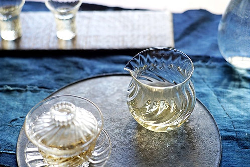 Swirling Water Glass Faircup