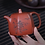 Thumbnail: Yixing Zisha Base Clay River Cloud Teapot (175ml)