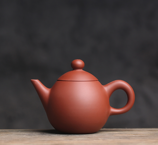 Zisha Zhu Clay Dragon Pearl Chiu Chow Teapot (130/180ml)