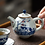 Thumbnail: Qinghua Sleepy Cat Teapot