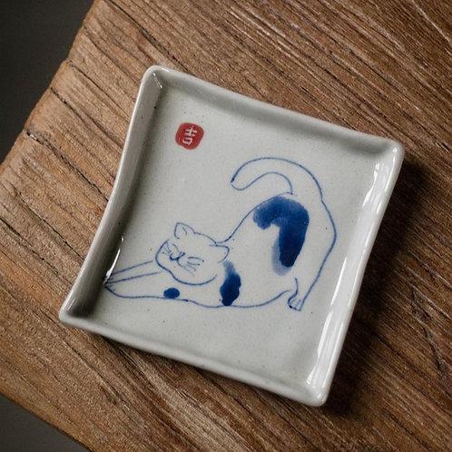 Cat Diary Tea Coaster