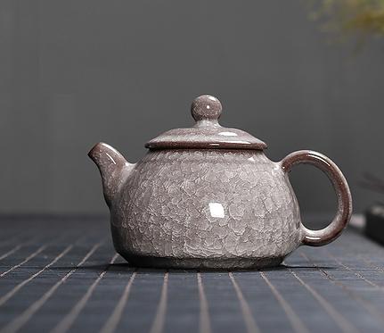Silver Dragon Celadon Teapot