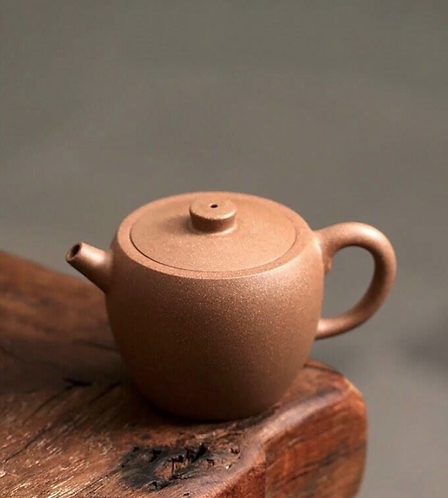 Yixing Zisha Fault Clay Ju Lun (Golden Wheel) Teapot (155ml)
