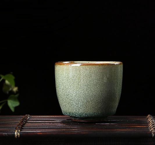 Mystic Green Teacup