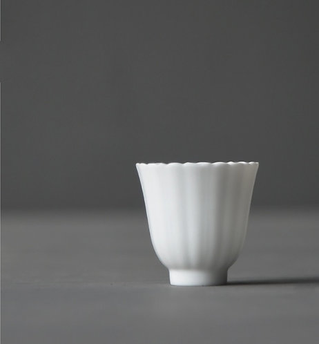Snow White Petal Cup