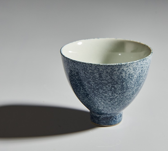 Qinghua Blue Rain Teacup