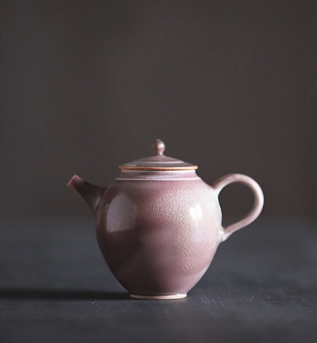 Handmade Purple Grape Glazed Teapot -  Canvas Studio