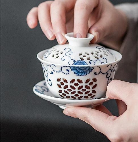 Exquisite Chinese Window Gaiwans (120 ml)
