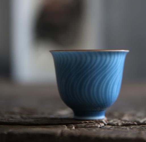 Slim Wave Teacups