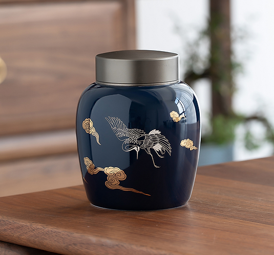 Lost in Cloud Tea Jar (Include Shipping for Bulky Item)