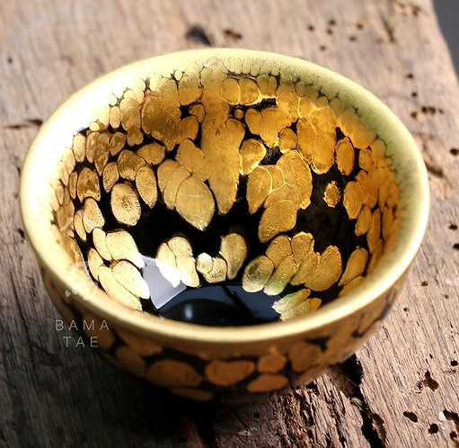 Gold Bubble Jian Zhan Teacup