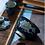 Thumbnail: Cracked Glazed Qinghua River Grass Gaiwans (150 ml)