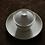 Thumbnail: Ivory White Ripple Gaiwan (130ml)