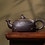 Thumbnail: Yixing Zisha Aged Purple Clay Phoenix & Dragon Romance Teapot (340ml)