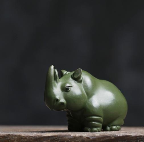Green Rhino Teapet