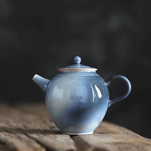 Handmade Creek Blue Glazed Teapot -  Canvas Studio